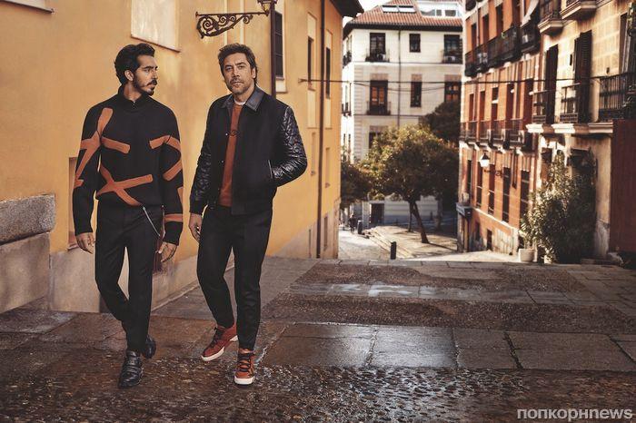 Хавьер Бардем и Дев Патель снялись в рекламной кампании одежды Ermenegildo Zegna