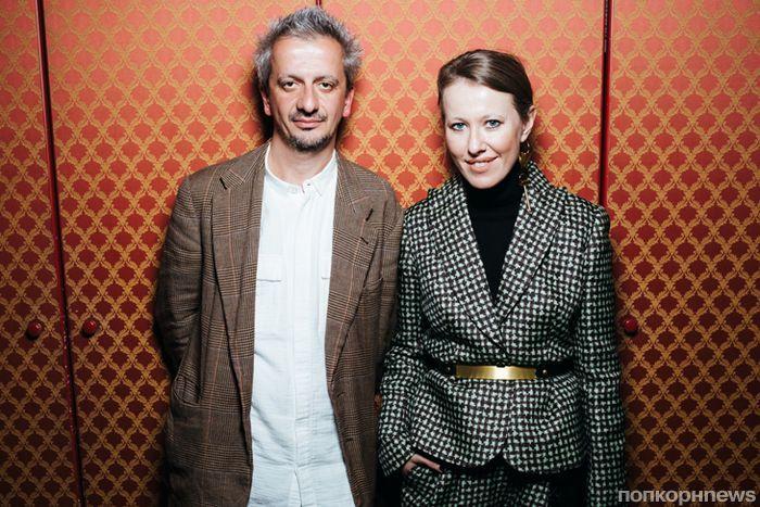 Ксению Собчак возмутило ее фото с любовником на обложке глянца