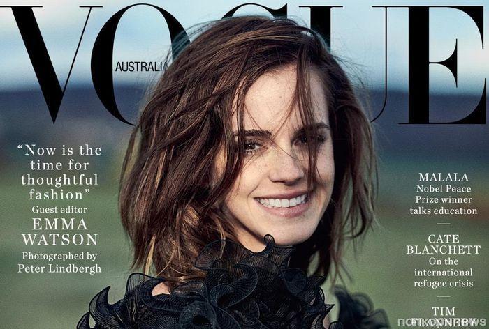 Эмма Уотсон снялась в фотосессии для Vogue Australia (март 2018)