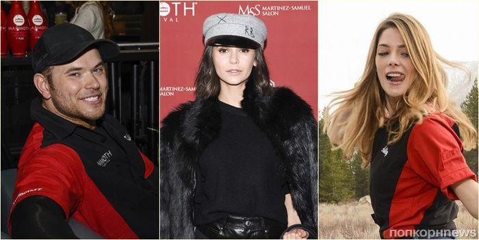 Нина Добрев, Келлан Латс, Эшли Грин и другие звезды поучаствовали в благотворительном боулинг-турнире