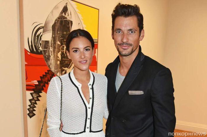 Бессменное «лицо» Dolce & Gabbana Дэвид Ганди впервые стал отцом