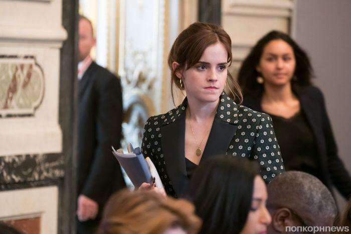 Эмма Уотсон обсудила с Первой леди Франции проблему равноправия полов