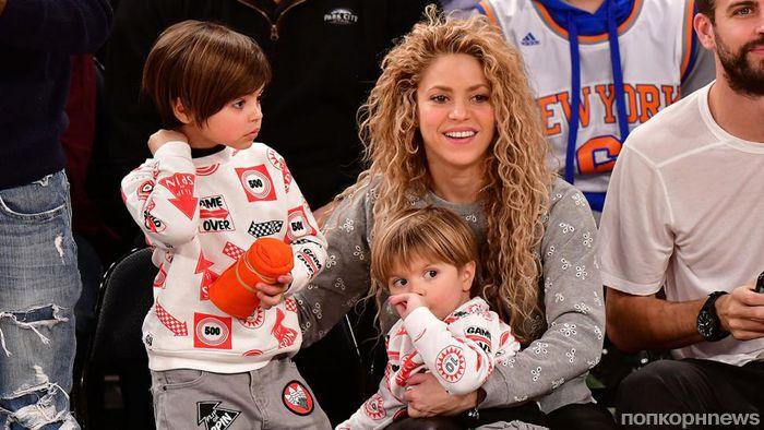 Шакира отвезла детей в Финляндию для знакомства с «настоящим» Санта Клаусом