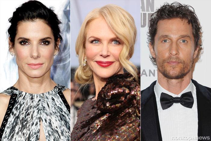 Мэттью Макконахи, Эмили Блант, Николь Кидман и Сандра Буллок вручат «Оскары» 2018