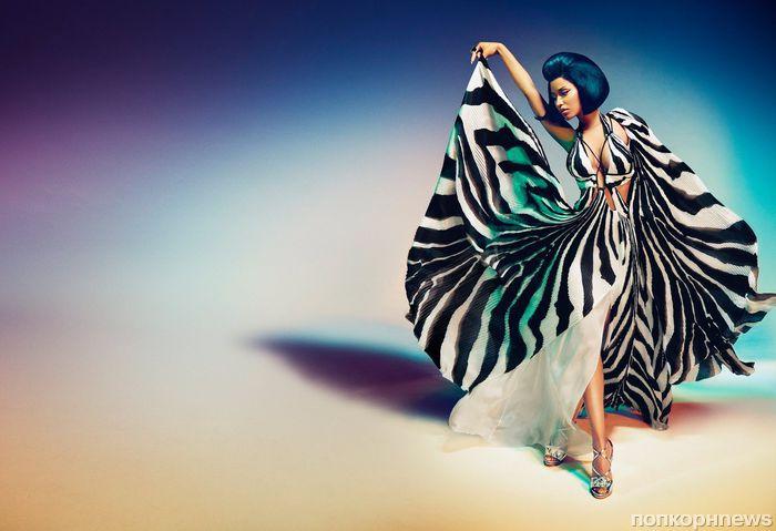 Ники Минаж в рекламной кампании Roberto Cavalli. Весна / лето 2015