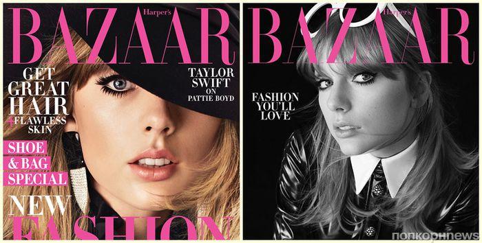 Фото: Тейлор Свифт украсила обложку нового номера Harper's Bazaar