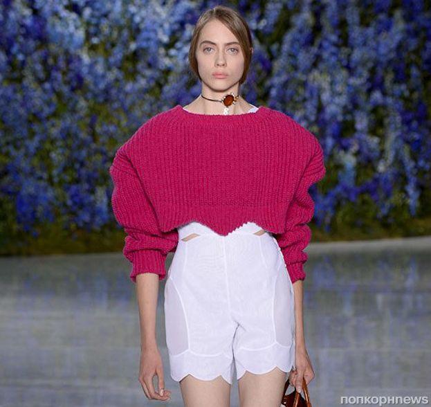 Модный показ новой коллекции Dior. Весна / лето 2016