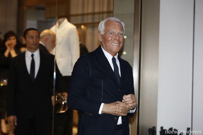 Звезды на юбилейном вечере Giorgio Armani в Милане