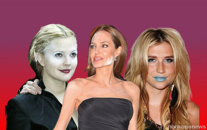 Уволить визажиста: 15 жутких фейлов макияжа звезд