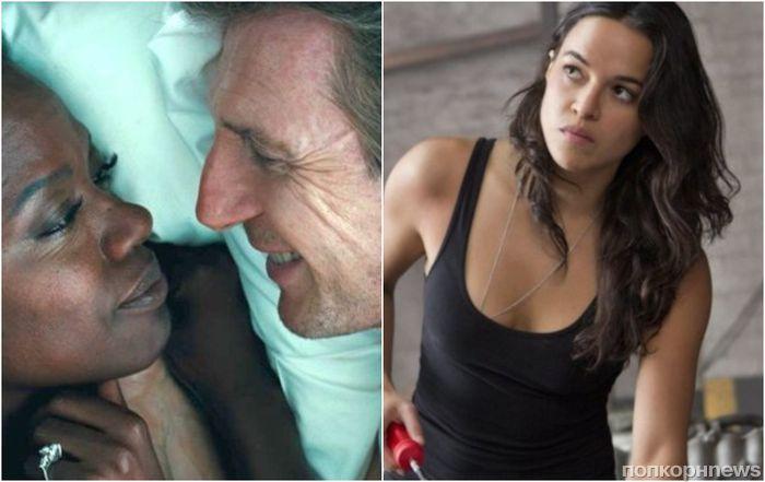 Целовался с негритянкой – значит, не расист: Мишель Родригес защищает обвиненного в расизме Лиама Нисона