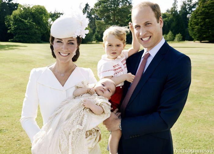 Принц Уильям считает 11-месячную дочь отличным футболистом