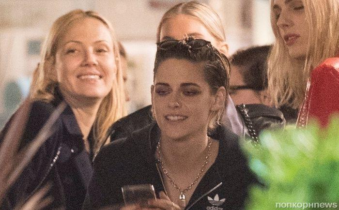 Фото: Кристен Стюарт отпраздновала день рождения своей девушки Стеллы Максвелл в Каннах