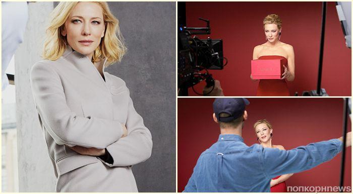 Кейт Бланшетт снялась в новой рекламе Armani (видео)