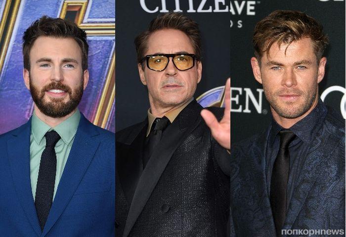 Роберт Дауни-младший, Крис Эванс и другие звёзды на премьере фильма «Мстители: Финал» в Лос-Анджелесе