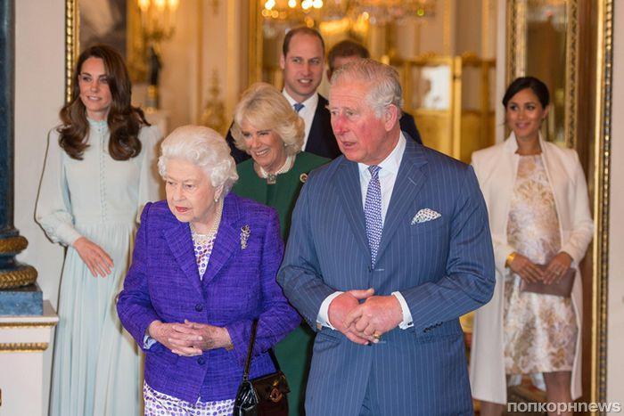 Впервые за долгое время: Меган Маркл и Кейт Миддлтон вместе на праздновании в честь принца Чарльза