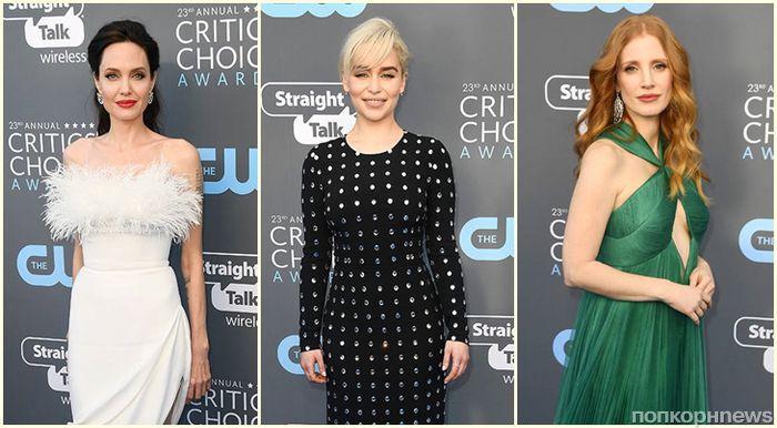 Фото: звезды на красной дорожке Critics' Choice Awards 2018