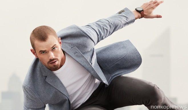 Звезда «Сумерек» Келлан Латс стал лицом благотворительной кампании модного бренда Geoffrey Beene