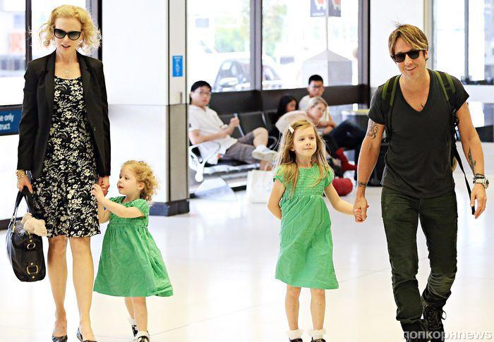 Дочери Николь Кидман стесняются знаменитой матери