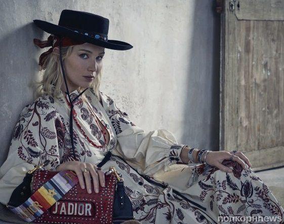 Видео: Дженнифер Лоуренс на съемках рекламы круизной коллекции Dior
