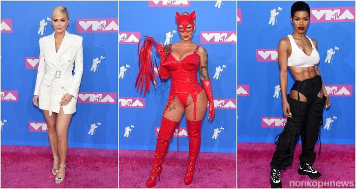 MTV Video Music Awards 2018: фото звезд на красной дорожке и список победителей