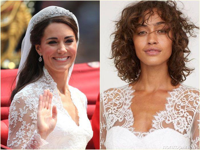 H&M представил «бюджетный» аналог свадебного платья Кейт Миддлтон