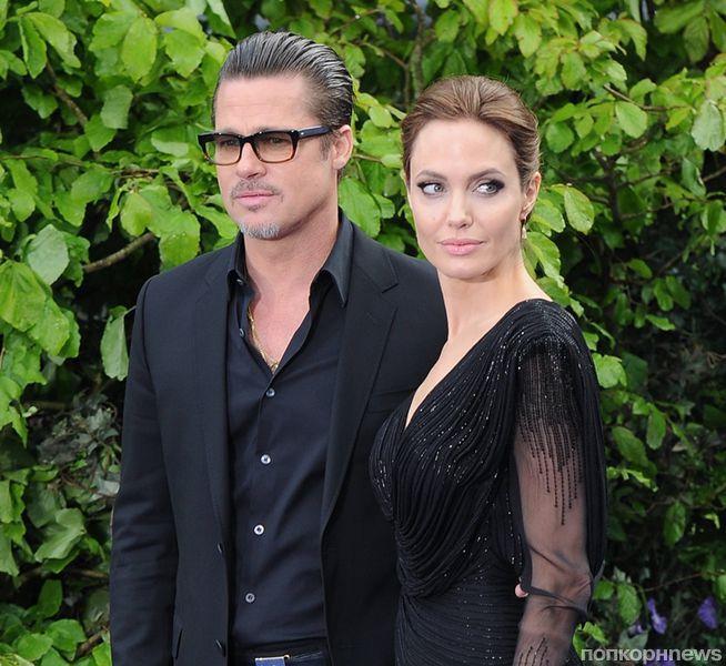Слух: Анджелина Джоли затягивает развод, чтобы вернуть Брэда Питта