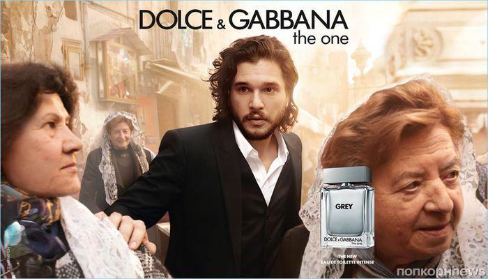Видео: Кит Харингтон снялся в рекламе нового аромата Dolce & Gabbana