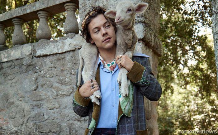 Гарри Стайлс и козлята снялись в рекламе круизной коллекции Gucci