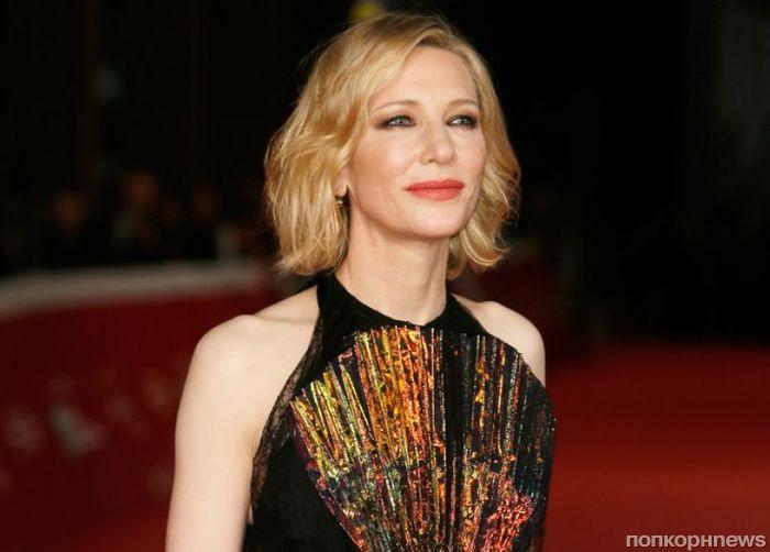 Кейт Бланшетт привезла «Тайну дома с часами» на красную дорожку кинофестиваля в Риме