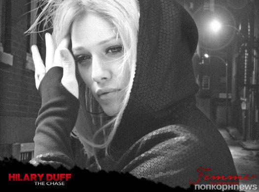 Хилари Дафф в рекламе DKNY Jeans