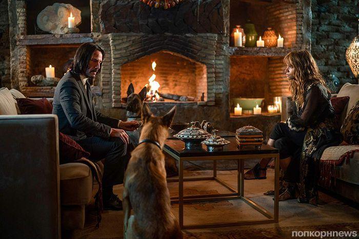 Киану Ривз в дебютном трейлере боевика «Джон Уик 3»