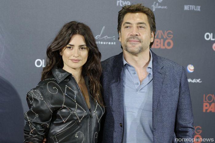 Фото: Пенелопа Крус и Хавьер Бардем на премьере фильма «Эскобар» в Мадриде