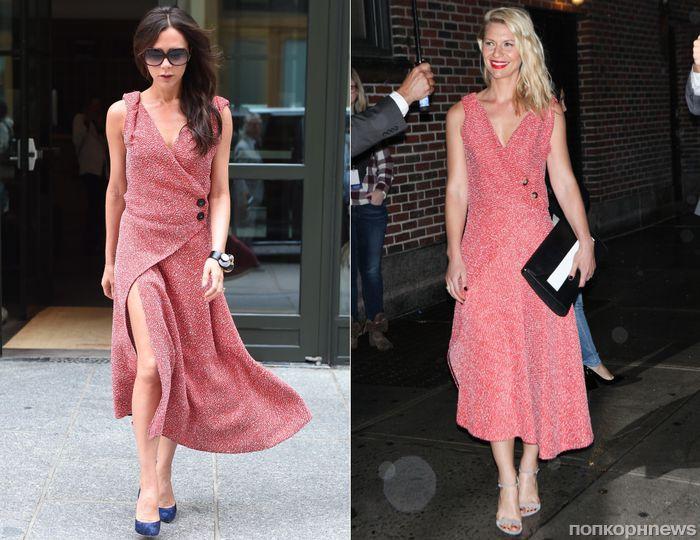 Fashion battle: Виктория Бекхэм и Клэр Дэйнс