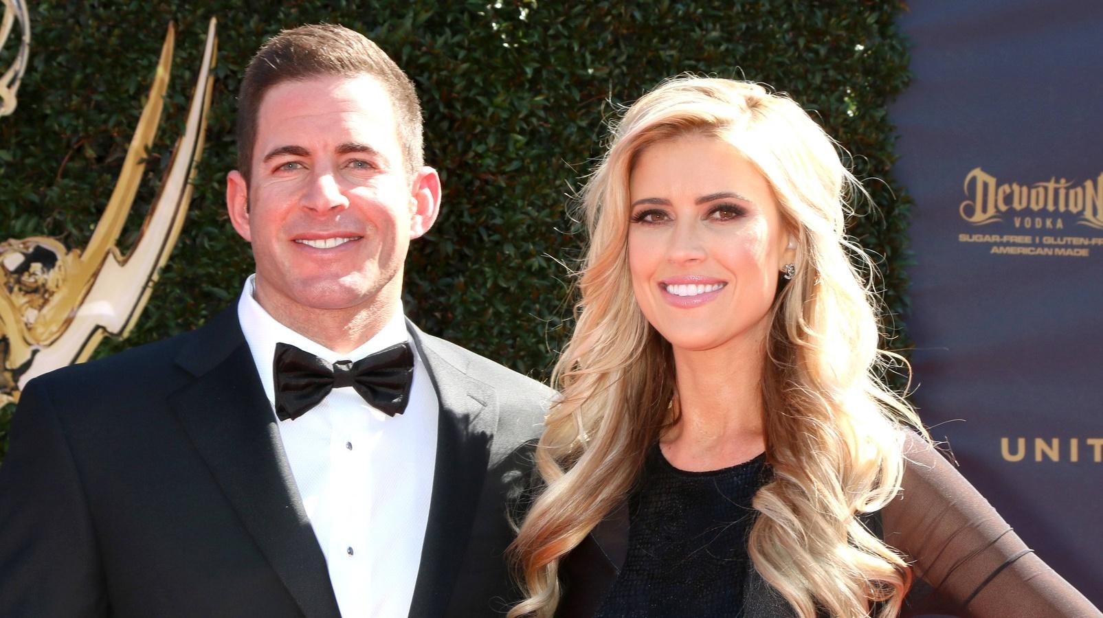 Тарек с бывшей женой Кристин