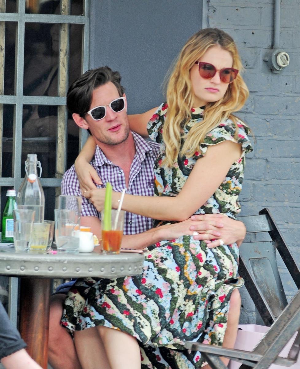 «Она хочет нормального парня»: Мэтт Смит и Лили Джеймс окончательно расстались