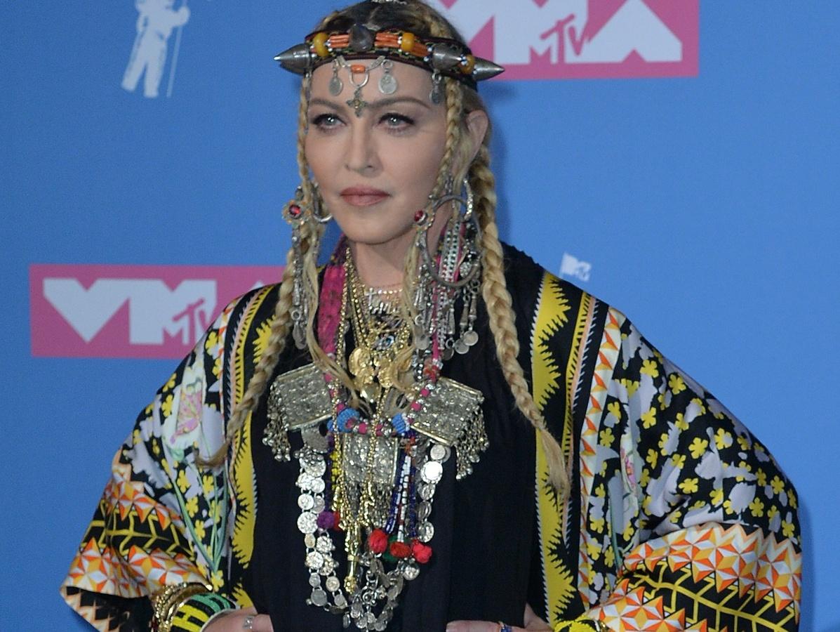 Мадонна 40 лет остается королевой поп-музыки
