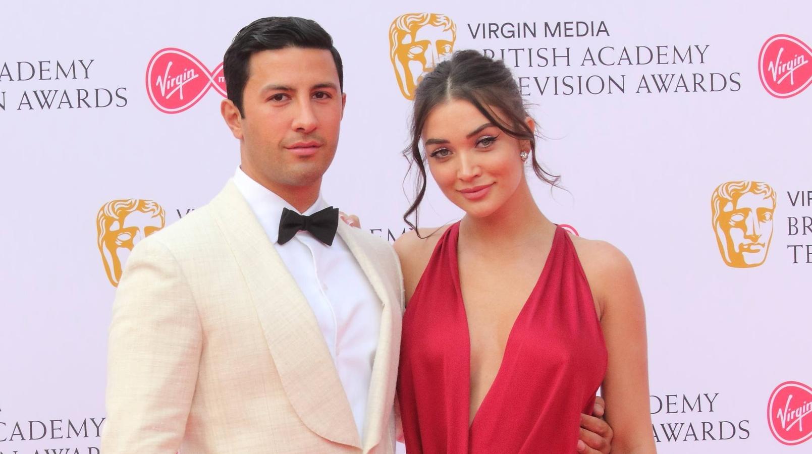 Amy Jackson and George Panayiotou