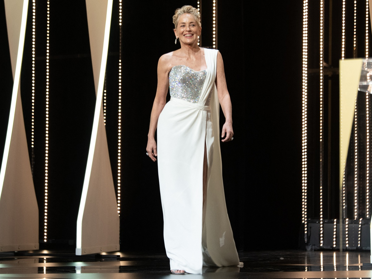 Шэрон Стоун показала класс на фотосессии Dolce & Gabbana