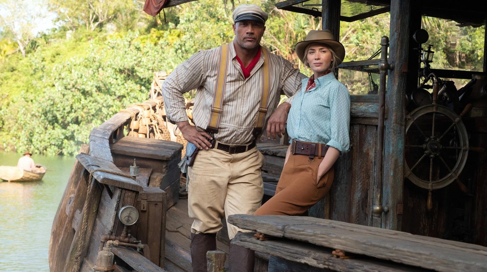 """Дуэйн Джонсон и Эмили Блант продолжат работать в новом """"Круизе по джунглям"""""""