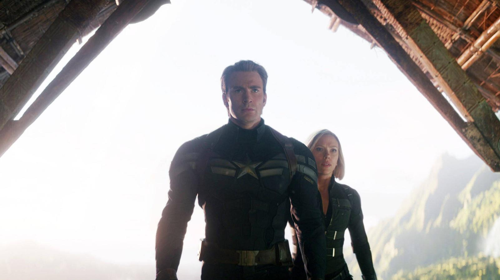 Черная вдова и Капитан Америка зажгут круче в Marvel