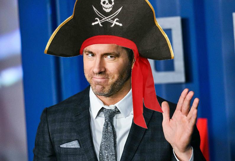 Райана Рейнольдса хотят пригласить в спин-офф «Пиратов Карибского моря»