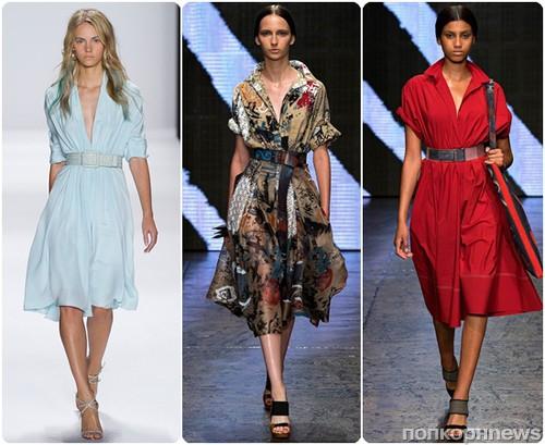 fc770464b2f ... весна-лето 2015. Самый модный фасон повседневного платья в новом  весенне-летнем сезоне – классическое платье-рубашка