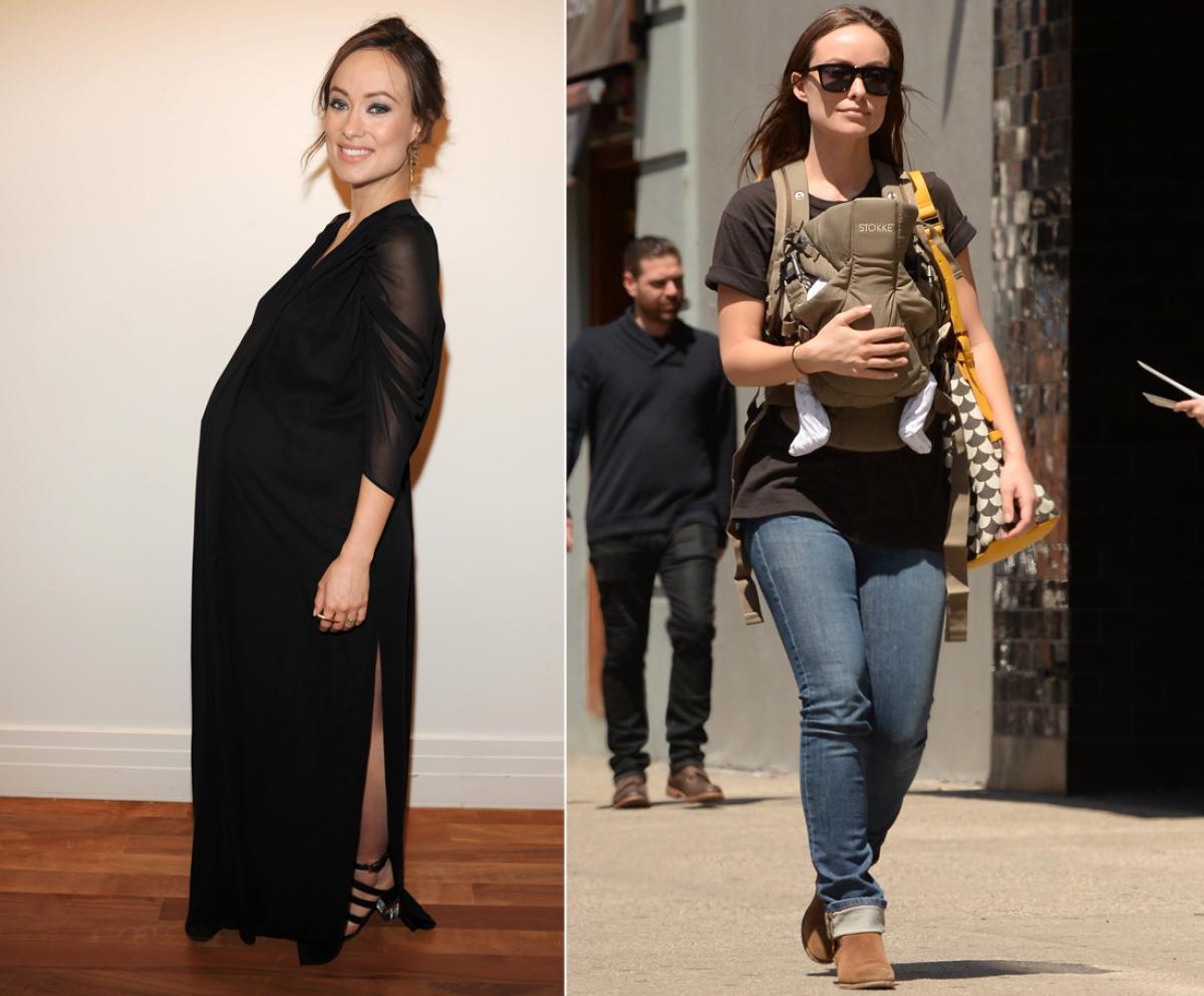 Похудения звезд после беременности